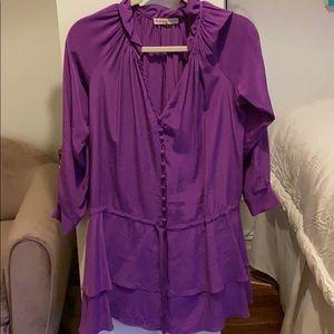 Silk Rebecca Taylor dress. Worn once!